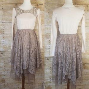 Women's RYU Tulle Lace Tea dress Modcloth Anthro